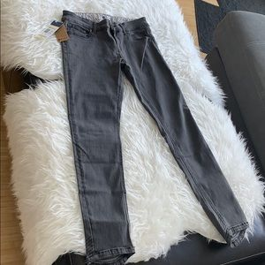 ROXY grey suntripped skinny jeans (size 28/S/2)